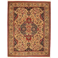 Shah Abbas Hand-Knotted Rug (India)