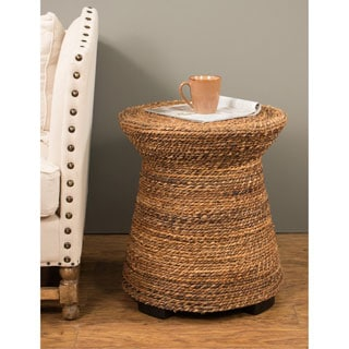 Wiggins Tan Round End Table