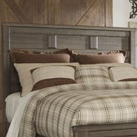 Signature Design by Ashley Juararo Brown Queen Panel Headboard