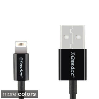 BasAcc 3.3 ft. MFI-certified Apple 8-pin Lightning to USB Cable for Apple iPhone/ iPad/ iPod