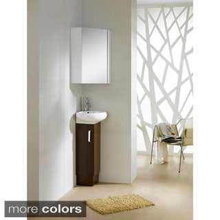 Fine Fixtures Milan 15-inch Vanity with Vitreous China Sink Top (3 options available)