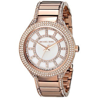 Michael Kors Women's MK3313 Kerry Round Rose Gold-tone Bracelet Watch