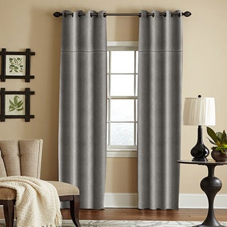 Grand Luxe Linen York Grommet Window Panel