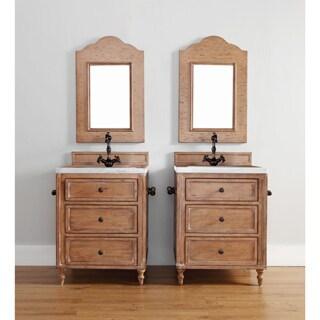 """Copper Cove 26"""" Single Vanity Cabinet, Copper Cover"""