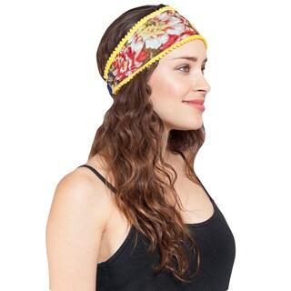 Cotton Floral Chic Headband