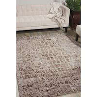 Nourison Gemstone Smokey Quartz Rug - 8'6 x 11'6