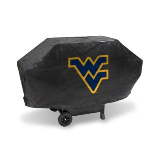 West Virginia Mountaineers 68-inch Deluxe Grill Cover
