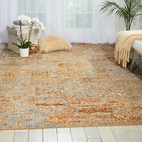 Barclay Butera Moroccan Tapestry Area Rug by Nourison (7'3 x 9'9) - 7'3 x 9'9