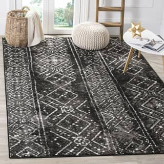 Safavieh Adirondack Vintage Boho Black/ Silver Rug (8' x 10')|https://ak1.ostkcdn.com/images/products/P17338384jt.jpg?impolicy=medium