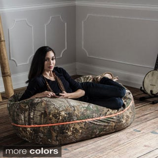 Jaxx Realtree 4 ft. Camouflage Bean Bag Lounger