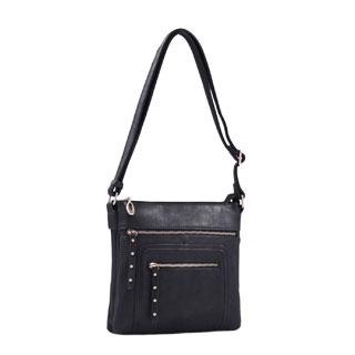 Lithyc Vegan Leather 'Samie' Crossbody Handbag