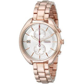 Fossil Woman's CH2977 Land Racer Chronograph Stainless Steel Rose Gold Watch|https://ak1.ostkcdn.com/images/products/P17347736a.jpg?impolicy=medium