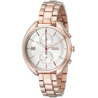 Fossil Woman's CH2977 Land Racer Chronograph Stainless Steel Rose Gold Watch