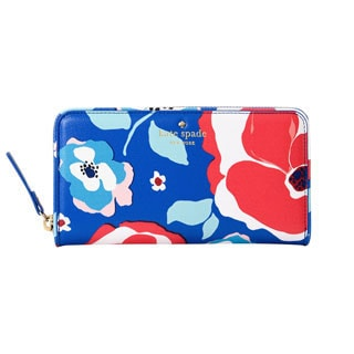 Kate Spade Cedar Street Multi Floral Lacey Continental Wallet