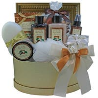 Sophisticated Luxury Vanilla Spa Bath and Body Gift Basket
