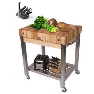 John Boos Cuct24 D Cucina Technica 30 X 24 Cart With Undershelf 4