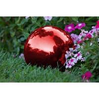 Trademark Innovations Stainless Steel 8-inch Gazing Mirror Ball