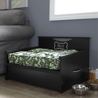 South Shore Step One Dog Bed with Storage and Cushion Cover