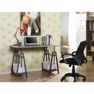 Homestar Height Adjustable Desk in Reclaimed Wood|https://ak1.ostkcdn.com/images/products/P17410330jt.jpg?impolicy=medium