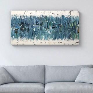 Carmen Guedez 'Blue Nile' 24x48 Canvas Wall Art