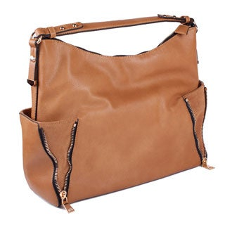 Moda Luxe 'Daytona' Leather Shoulder Bag