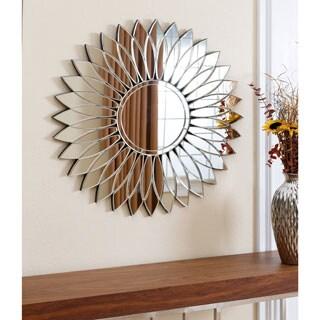 ABBYSON LIVING Chloe Round Wall Mirror