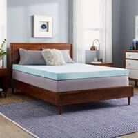 Slumber Solutions Choose Your Comfort 4-inch Gel Memory Foam Mattress Topper