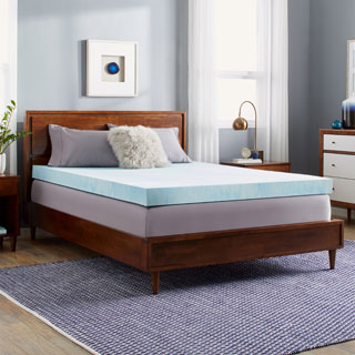 Slumber Solutions Choose Your Comfort 4-inch Gel Memory Foam Mattress Topper (More options available)
