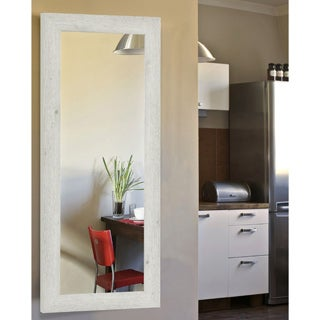 American Made Rayne Antique White Washed Body Wall/ Vanity Mirror