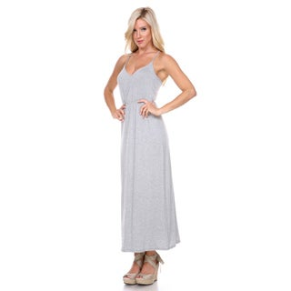 Stanzino Women's Flowing Tank Maxi Dress
