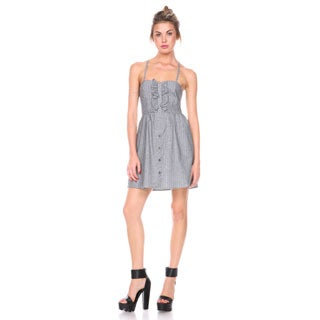 Stanzino Women's Pinstripe Tank Dress