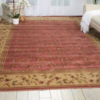 Nourison Somerset Light Rose Rug