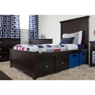 Craft Boston Bed with Bookcase Headboard and Foot Panel