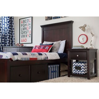 Craft London Bed with Plank Panel Headboard and Foot Panel