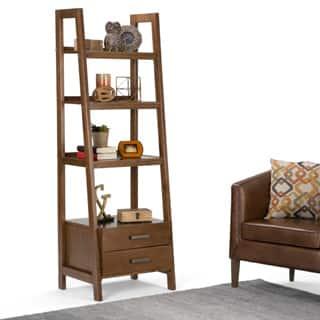 Shop Modish Leaning Ladder Bookshelf Free Shipping On