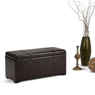 WYNDENHALL Waterford 5-piece Storage Ottoman Bench