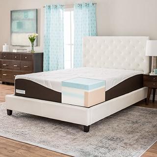 ComforPedic from Beautyrest 14-inch Full-size Gel Memory Foam Mattress