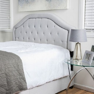 Linden Adjustable Fabric Headboard by Christopher Knight Home