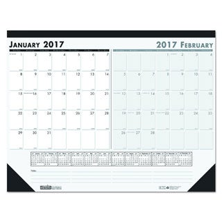 House of Doolittle 2017 Two-Month Desk Pad