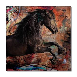 Ready2HangArt 'Equestrian Saddle Ink II' Canvas Wall Art