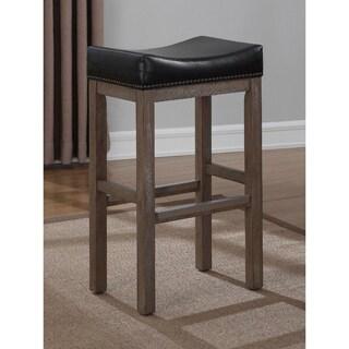 Greyson Living Napoli Saddle Seat Counter Stool