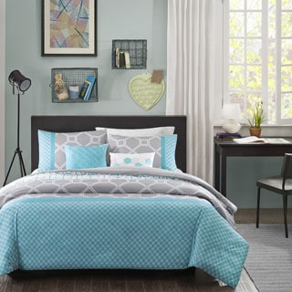 Intelligent Design Zara Blue Duvet Cover Set