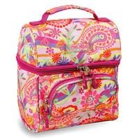 J World Pink Paisley Corey Lunch Bag