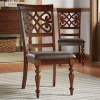 Emma Catherine Cherry Dining Chairs (Set of 2) by iNSPIRE Q Classic