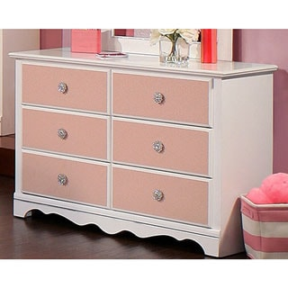 Sandberg Furniture Sabrina 6-drawer Dresser