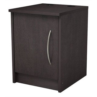 Homestar Finch Espresso 1 Door Nightstand