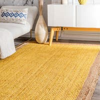The Gray Barn Eagle's Nest Braided Reversible Jute Rug (3' x 5')