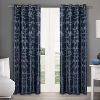 ATI Home Lovebirds Grommet Top 84-inch Curtain Panel Pair|https://ak1.ostkcdn.com/images/products/P17521700a.jpg?impolicy=medium