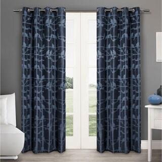 ATI Home Lovebirds Grommet Top 84-inch Curtain Panel Pair - 50 X 84
