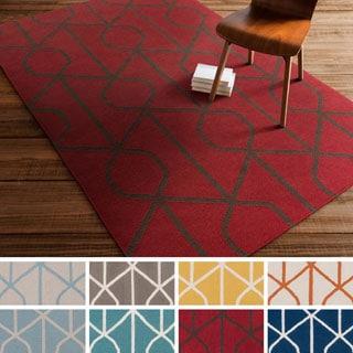 Flatweave Liskeard Wool Rug (5' x 8')